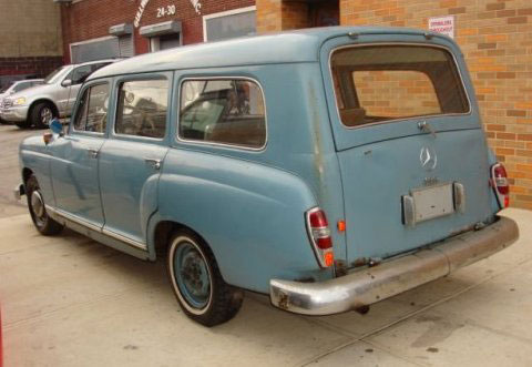 Mercedes Station Wagon For Sale