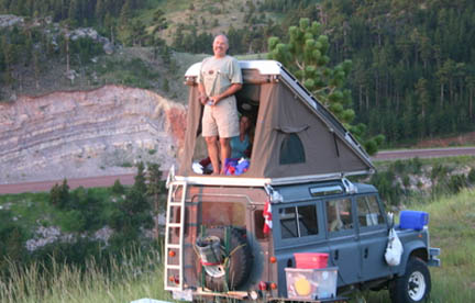 The traditional Westy pop-top c&er. & Roof tent car and van camping