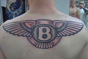 Car logo tattoo 39 s for Fast and furious tattoo