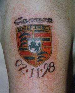 Porsche Tattoo Pictures To Pin On Pinterest Tattooskid